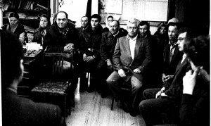 Коллектив Красноармейской дирекции киносети. 28.03.89 г.